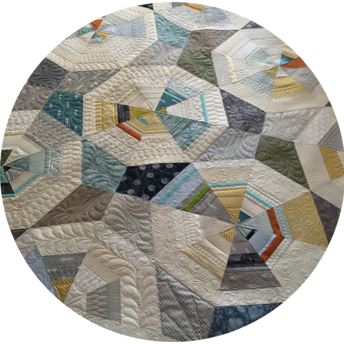 Octagon Quilting Templates : Octagon Shimmer Quilt - Orchid Owl Quilts